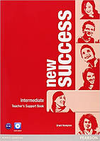 New Success Intermediate Teacher's Book & DVD-ROM Pack (книга для учителя+DVD)