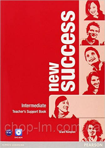 New Success Intermediate Teacher's Book & DVD-ROM Pack (книга для учителя+DVD), фото 2