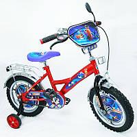 """Велосипед Турбо 14 BT-CB-0002 красный с черным, система: """"One piece crank""""***"""