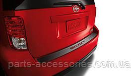 Scion xB 2011-15 защитная накладка наклейка аппликация на задний бампер новая оригинал