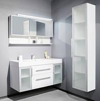 Комплект мебели для ванной Barbados 120-2 Буль-буль белый
