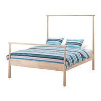 "IKEA ""ГЙОРА"" Каркас кровати, береза, 140x200 см"