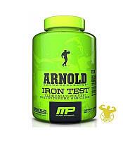 Бустер тестостерона  Iron Test Arnold Series от Muscle Pharm 90 капcул