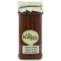 Соус Bramble с жареным перцем и красным луком