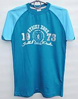 Футболка для мальчика подростка 10-16 лет Strike Zone синяя