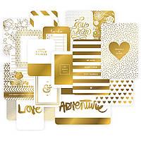 Набор карточек Project Life Golden 40 шт (718813803663)
