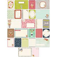 Набор карточек Project Life Floral 60 шт (718813802376)