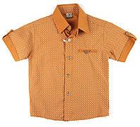 Рубашка из легкого хлопка для мальчика 110,116,122,128 р.