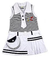Платье летнее трикотажное для девочки 92р.