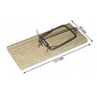 Мышеловка деревянная маленькая (упаковка 10 шт)