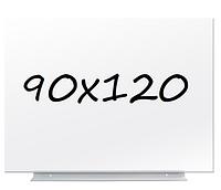 Доска магнитно-маркерная безрамная 90х120см
