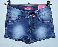 Шорти джинсові для дівчинки 7-12 років MoLi Jeans