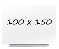 Доска магнитно-маркерная безрамная 100х150см