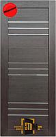 """Двери межкомнатные """"TM STDM - Alegra 8"""" ПВХ Renolit (Венге)"""