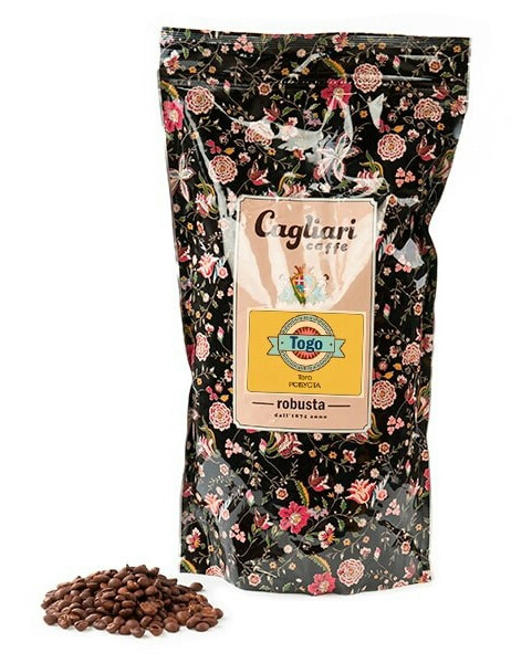 Кофе в зернах Cagliari Робуста Того
