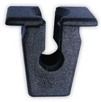 Крепление брызговиков, надколесных дуг. Вставка с прямоугольной шляпкой Volkswagen 811807577C