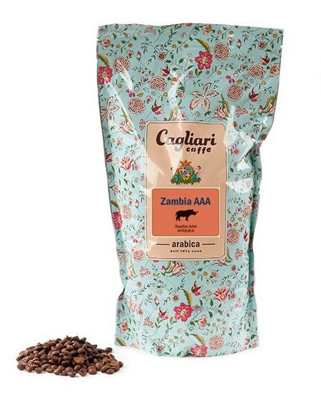 Кофе в зернах Cagliari Арабика Замбия ААА