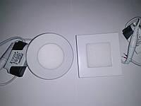 LED ЛЕД светодиодный потолочный светильник 3 W 3 вт