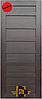 """Двери межкомнатные """"TM STDM - Notte 3"""" ПВХ Renolit (венге)"""