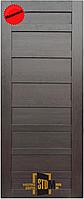 """Двери межкомнатные """"TM STDM - Notte 3"""" ПВХ Renolit (венге), фото 1"""