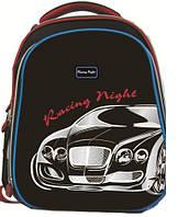 Ранец CLASS Jaguar, 2 отделения, 39*28*21см, черно-красный, 9633