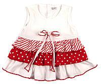 Платье легкое трикотажное для девочки 74,80р.