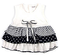 Платье легкое трикотажное для девочки 86р.