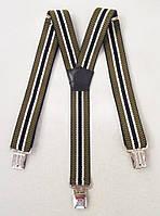 Мужские подтяжки, ширина 4 см., фото 1