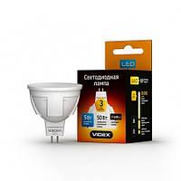 Светодиодная лампа  Videx LED MR16 5W GU5,3 4100K  220V