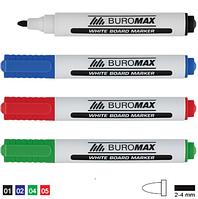 Набор маркеров для сухостираемых поверхностей,  4шт