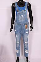 Женские джинсовые комбинезоны