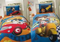Подростковое постельное белье TAC  DISNEY простынь на резинке  MMCH 2010