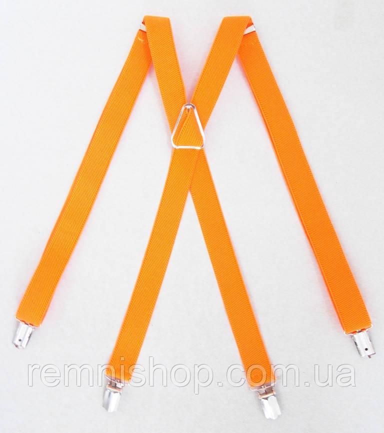 Оранжевые женские подтяжки яркие
