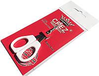 Ножницы маникюрные CREZ (универсальные) с белыми ручками