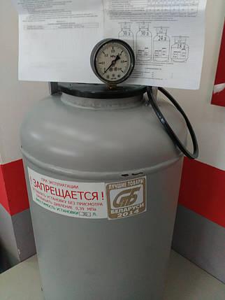 Автоклав для домашнего консервирования на 30 литров(10 литровых или 21 полулитровая банка) пр - во  Беларусь, фото 2
