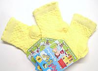 Летние ажурные носки на маленьких лимонные