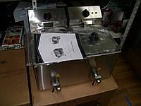 Фритюрница промышленная 8+8 л (Германия), фото 1