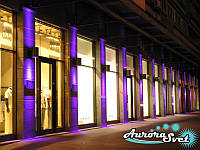 Освещение фасадов зданий. LED подсветка. Светодиодное освещение. Профессиональное освещение., фото 1