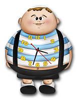 Детские фигурные настенные часы