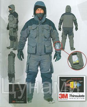 Rapala InterFace - зимний мужской костюм на суровую погоду до -30С