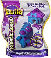 Wacky-Tivities Кинетический песок Wacky-tivities Kinetic Sand Build, голубой/фиолетовый (71428BP)
