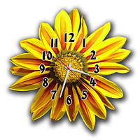 "Фигурные настенные часы ""Цветок"""
