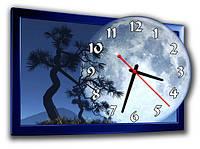 """Фигурные настенные часы """"Полнолуние"""""""