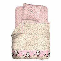 Сменный детский постельный комплект «Котята-Мышата» (Розовый), Мой ангел