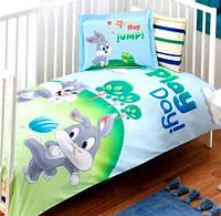 Детское постельное белье в кроватку TAC BEBEK DISNEY LOONEY TUNES SYLVESTER AND BUGS BUNNY BABY