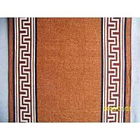 Дорожка на резиновой основе - Версаче brown - 100 см