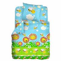 Сменный детский постельный комплект «Пчелки» (Голубой), Кошки-Мышки
