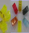 Коннектор RJ45 цветной (1000шт. упаковка)  (цвета в асс.)-1623