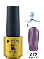 Fox Gel Polish Фокс гель лак 6 мл №072