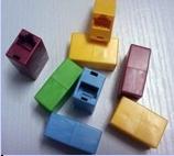 Сгонка для соединения RJ-45 (100шт. упаковка)  (цвета в ассортименте)-1624